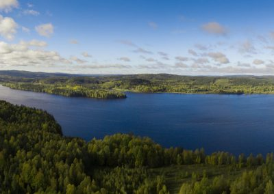 Panorama över Bysjön