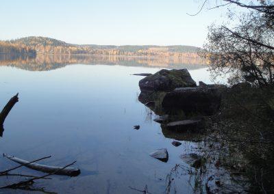 Bysjön vid badplatsen