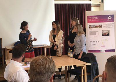 Studentpresentationer vid Högskolan i Dalarnas kurs om Bärkraftigt byggande