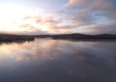Bysjöns isar, vinter 2020